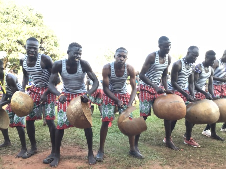 men playing drums